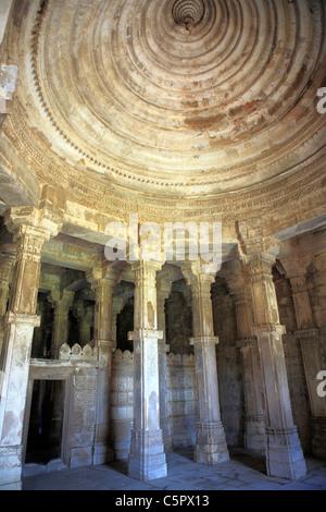 Mosque (15th-16th century), UNESCO World Heritage site, Champaner, India - Stock Photo