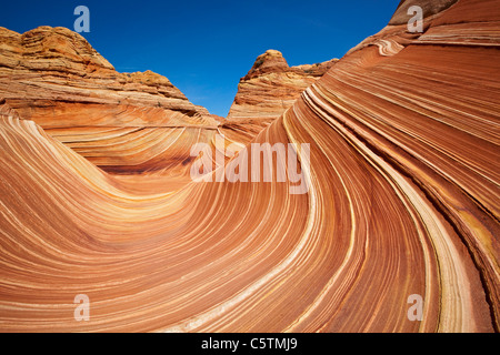 USA, Utah, North Coyote Buttes, The Wave - Stock Photo