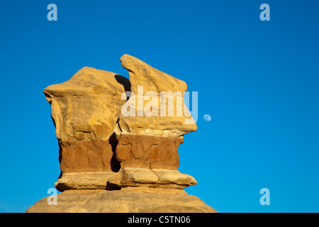 USA, Utah, Grand Staircase Escalante National Monument, Devils Garden, Rock formation - Stock Photo