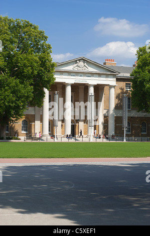 The Saatchi art gallery in the Old Duke of York's HQ, just off the Kings Road in Chelsea, London, England, UK. - Stock Photo