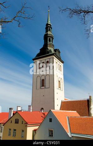 Niguliste Church, Tallinn, Estonia - Stock Photo