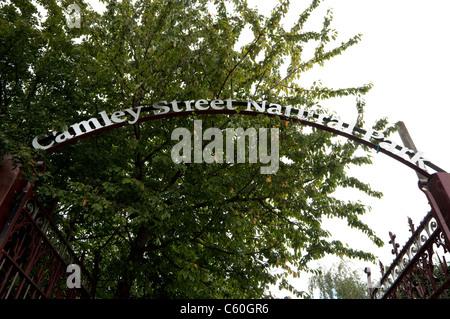 Camley Street Natural Park, Kings Cross, London - Stock Photo