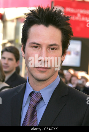 KEANU REEVES US film actor in 2005. Photo Jeffrey Mayer - Stock Photo
