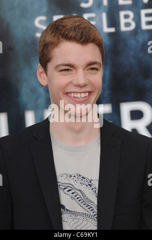 Gabriel Basso at arrivals for SUPER 8 Premiere, Regency Village Theater, Los Angeles, CA June 8, 2011. Photo By: - Stock Photo