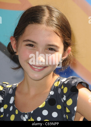Rowan Blanchard at arrivals for PHINEAS AND FERB: ACROSS THE 2nd DIMENSION Premiere, El Capitan Theatre, Los Angeles, - Stock Photo