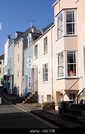 Coombe Street, Lyme Regis - Stock Photo