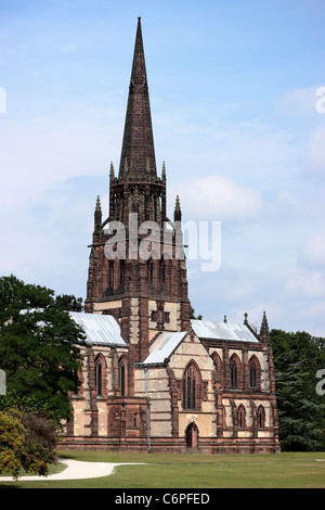 The Church of St. Mary the Virgin, The Chapel of St. Paul, Clumber Park Grade I listed - Stock Photo