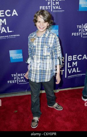 Bobby Coleman 2010 Tribeca Film Festival Premiere of Snowmen - Arrivals New York, USA - 23.04.10 - Stock Photo