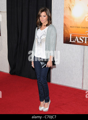 Ashley Tisdale 'The Last Song' premiere held at the Arclight Theater Los Angeles, California - 25.03.10 - Stock Photo