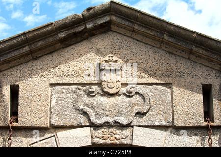 Main entrance of the old city Colonia del Sacramento, Uruguay - Stock Photo