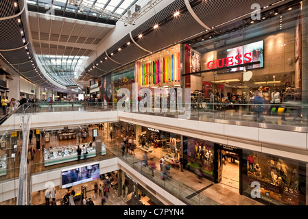 Westfield Shopping Centre - Stratford. - Stock Photo