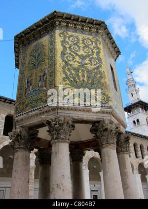 Umayyad mosque, Umayyaden Moschee Omajaden Moschee Syria, Syrien, Damaskus, Damascus - Stock Photo