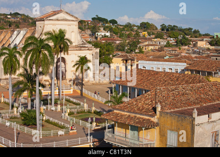 TRINIDAD: PLAZA MAYOR - Stock Photo