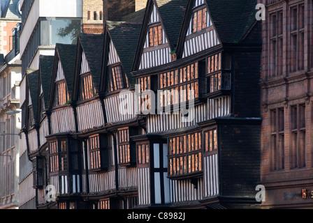Staple Inn High Holborn London. Building dates from 1585 HOMER SYKES - Stock Photo