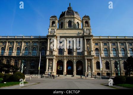 Kunsthistorisches Museum. Vienna, Austria - Stock Photo