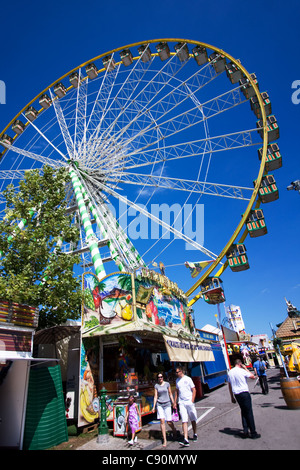 Schueberfouer city fair in Luxembourg - Stock Photo
