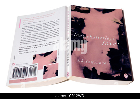 Lady Chatterley's Lover by DH Lawrence - Stock Photo