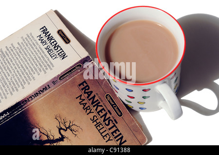 Frankenstein by Mary Shelley - Stock Photo