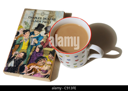 Oliver Twist by Charles Dickens - Stock Photo