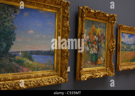 Musee des Beaux -Arts in Rouen, France - Stock Photo