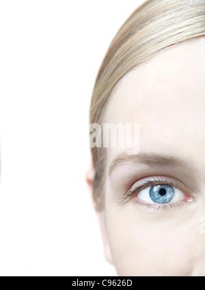 Woman's eye. - Stock Photo