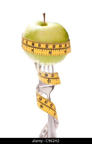 Dieting, conceptual image. - Stock Photo
