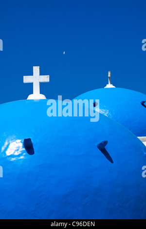 Greek Church - Santorini - Stock Photo