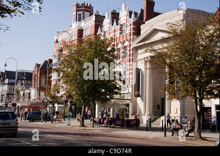 Scarisbrick Hotel, Lord Street, Southport - Stock Photo