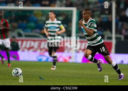 Portugal Cup Quarter final - Sporting CP (SCP) x SC Maritimo (SCM)  A. Carrillo Sporting Clube Portugal Forward - Stock Photo