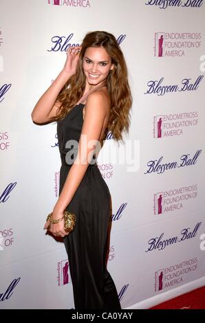 at arrivals for The Endometriosis Foundation of America's 4th Annual Blossom Ball, New York Public Library, New - Stock Photo
