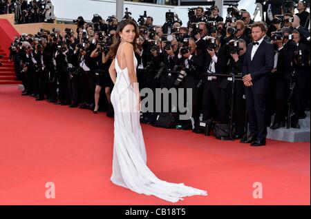 Eva Longoria *** UNITED KINGDOM, FRANCE, and GERMANY OUT!!! for DE ROUILLE ET D'OS Premiere - 65th Annual Cannes - Stock Photo