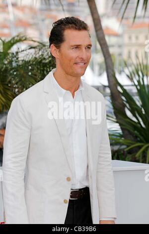 May 26, 2012 - Hollywood, California, U.S. - MATTHEW McCONAUGHEY.Mud photocall.65. Cannes Film Festival.Cannes, - Stock Photo