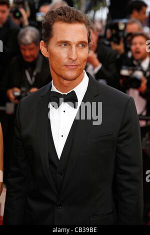 May 26, 2012 - Hollywood, California, U.S. - MATTHEW McCONAUGHEY.Mud premiere.65. Cannes Film Festival.Cannes, France.May - Stock Photo