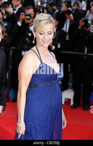 May 26, 2012 - Hollywood, California, U.S. - REESE WITHERSPOON.Mud premiere.65. Cannes Film Festival.Cannes, France.May - Stock Photo