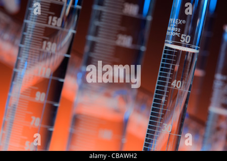 Chemical Glassware - Stock Photo