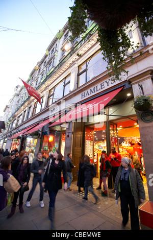 hamleys toyshop on regents street london england uk united kingdom - Stock Photo