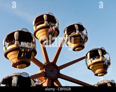 Ferris wheel in Legoland, Windsor, Berkshire, United Kingdom - Stock Photo
