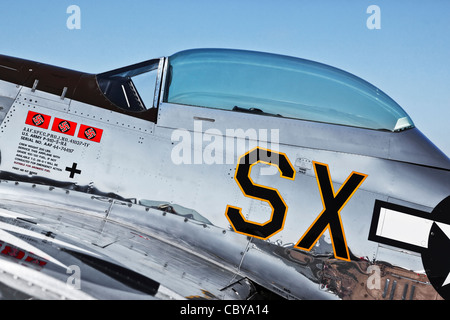 North American P51 Mustang - Stock Photo