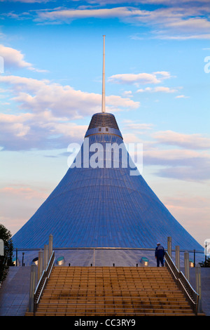 Kazakhstan, Astana, Khan Shatyr shopping and entertainment center - Stock Photo