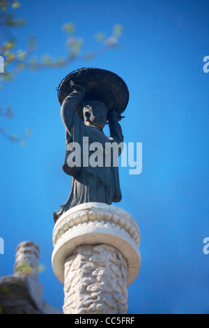 Receptacle of Dew, Beihai Park, Beijing, China - Stock Photo