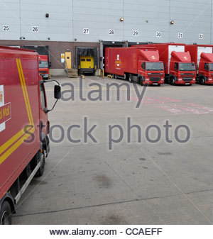 Royal mail depot, Wolverhampton, West Midlands - Stock Photo