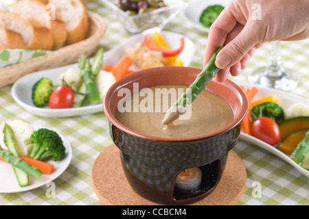 Bagna Cauda - Stock Photo