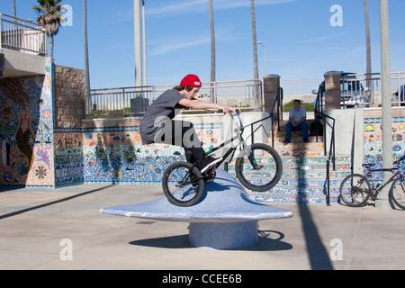 Bicycle Tricks - Stock Photo