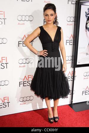 Nov. 11, 2010 - Los Angeles, California, U.S. - Mila Kunis.AFI Fest 2010 Closing Night Gala Screening Of ''Black - Stock Photo