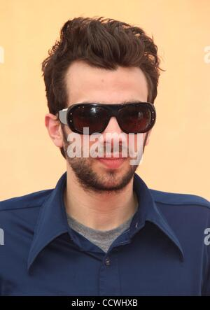 Mar 21, 2010 - Universal City, California, USA - Actor JAY BARUCHEL arriving to the 'How To Train Your Dragon' Los - Stock Photo