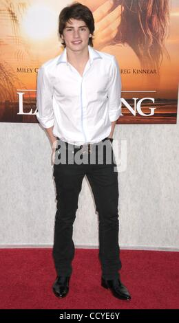 Mar 25, 2010 - Los Angeles, California, USA - Actor GREGG SULKIN  at the 'The Last Song' Los Angeles Premiere held - Stock Photo