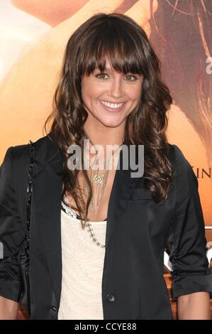 Mar 25, 2010 - Los Angeles, California, USA - Actress SHARNI VINSON  at the 'The Last Song' Los Angeles Premiere - Stock Photo