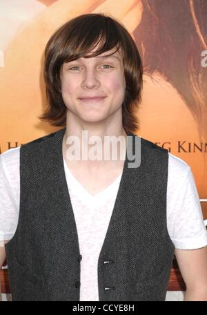 Mar 25, 2010 - Los Angeles, California, USA - Actor LOGAN MILLER  at the 'The Last Song' Los Angeles Premiere held - Stock Photo