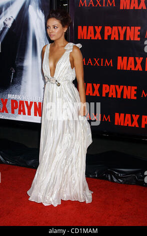 Oct. 13, 2008 - Hollywood, California, U.S. - I13833PR.THE PREMIERE OF ''MAX PAYNE'' AT GRAUMANS CHINESE THEATRE, - Stock Photo
