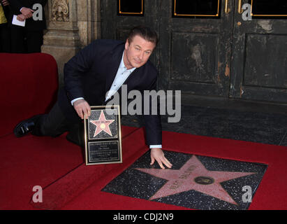 Feb. 14, 2011 - Hollywood, California, U.S. - Actor ALEC BALDWIN receives stra on the walk of fame. (Credit Image: - Stock Photo